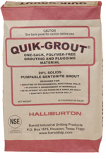 QUIK-GROUT® Borehole Grouting and Plugging Material